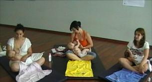 Grupos de apoyo a la lactancia
