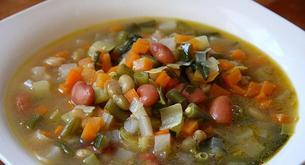 Receta para niños: sopa minestrone