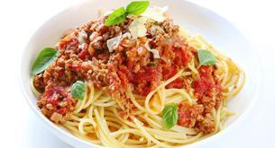 Receta para niños: espaguetis a la boloñesa