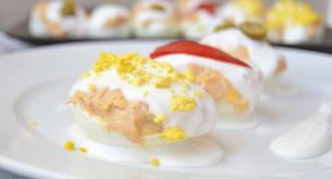 Receta para niños: huevos rellenos