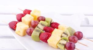 Receta para niños: brochetas de fruta