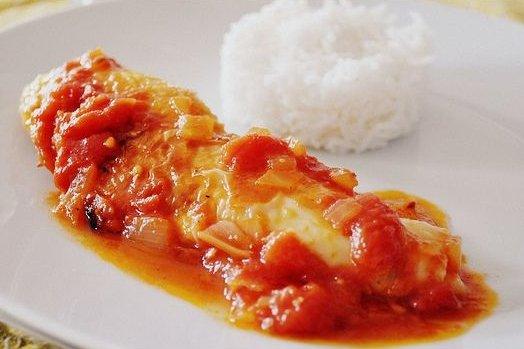 Receta para ni os pollo en salsa de tomate solo para madres - Pechuga d pollo en salsa ...