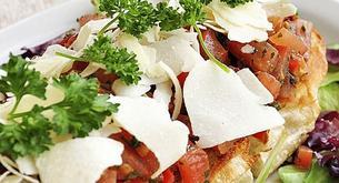 Receta para niños: tosta de pan con verduras