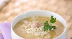 Receta para niños: sopa de arroz