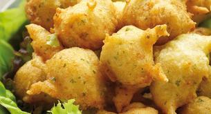 Receta para niños: buñuelos de bacalao