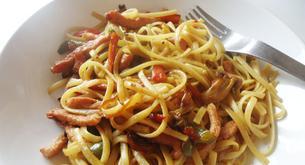 Receta para niños: fideos chinos con verduras
