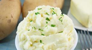 Receta para niños: puré de patata casero