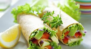 Receta para niños: burritos vegetarianos