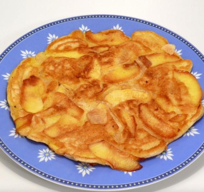 Receta para niños: tortitas de manzana