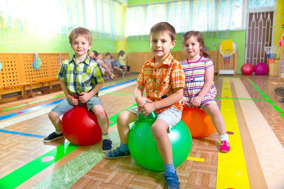 Ejercicios para niños: gimnasia en edad preescolar