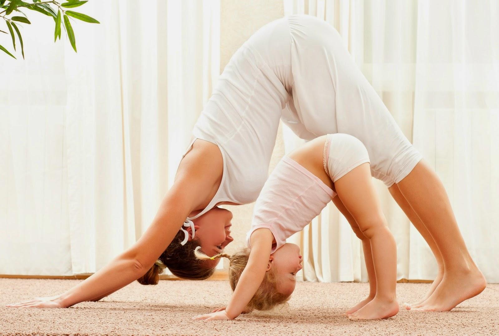 Ejercicios para niños:  los beneficios del yoga