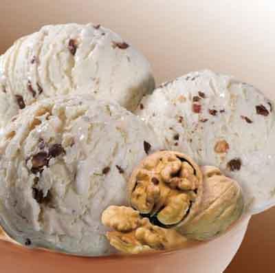 Receta para niños: helado de plátano y nueces