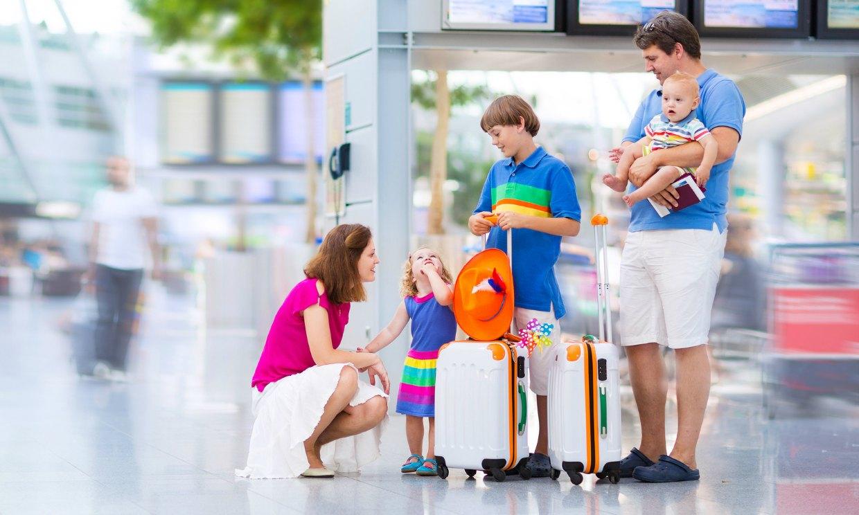 Seis recomendaciones para viajar con tus hijos