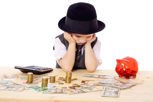 ¿Cuánto dinero dar a tus hijos?