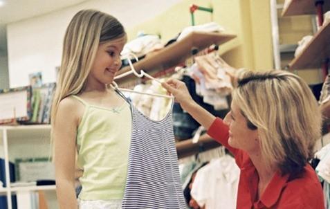 Cómo comprar ropa para tus hijos