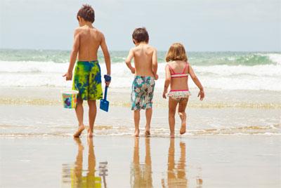 Las mejores playas para viajar con tus hijos