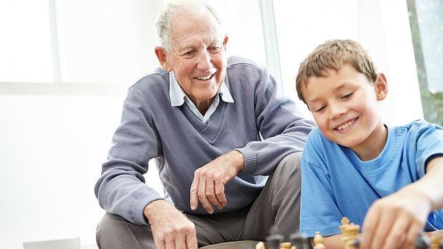 El cuidado de los niños por parte de los abuelos