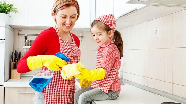 Las tareas domésticas del hogar