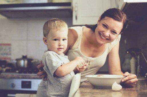 Ser madre y ama de casa