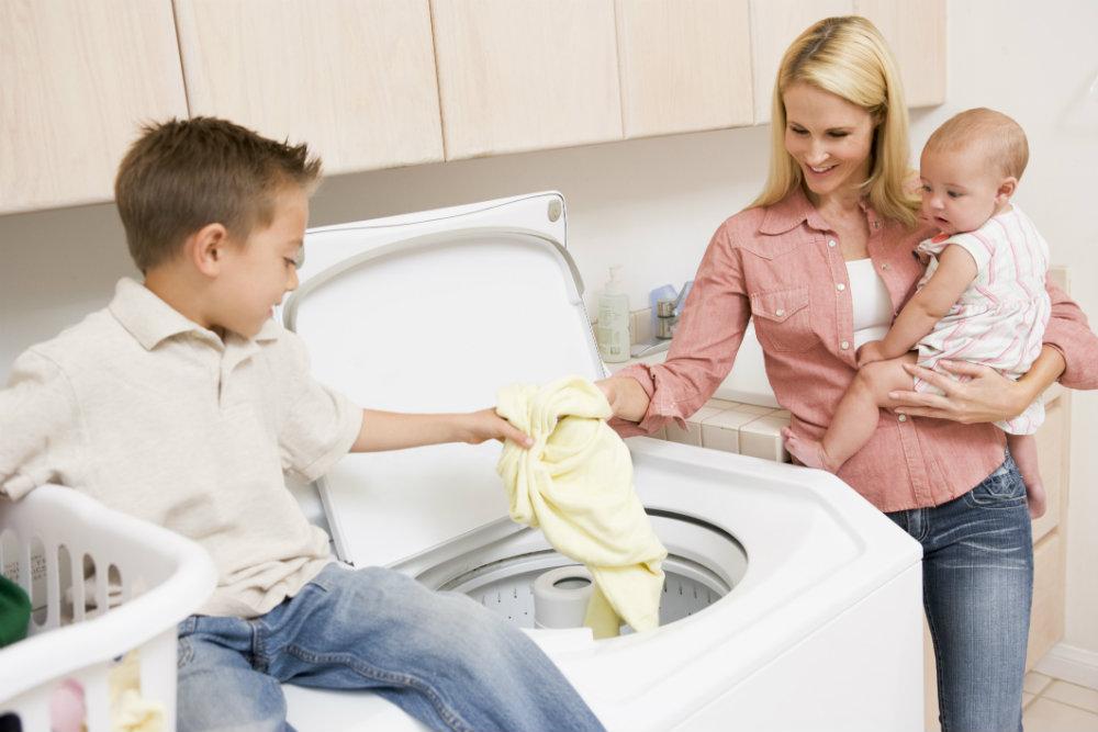 Ropa para niños: consejos antes de lavar su ropa