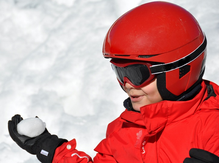 Complementos para niños: guantes de esquí