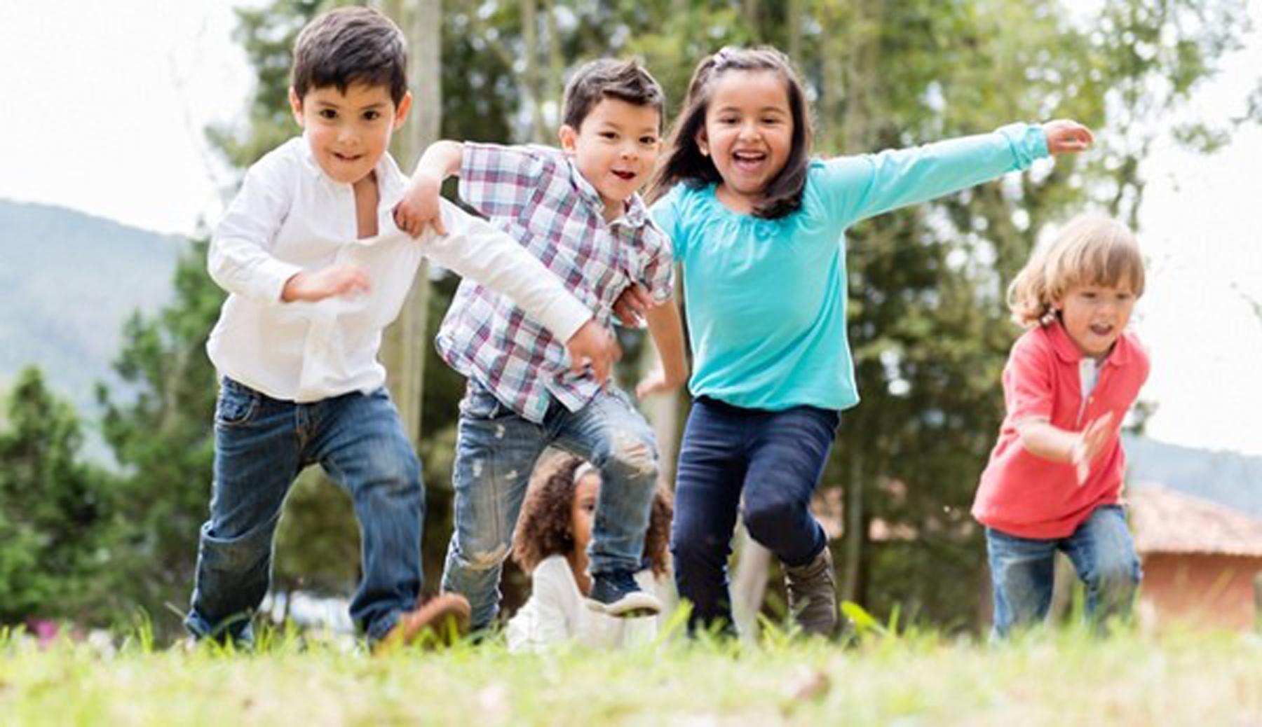 El cuidado de los niños en el campo