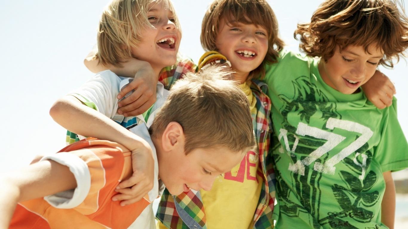 El cuidado de los niños: sus amigos