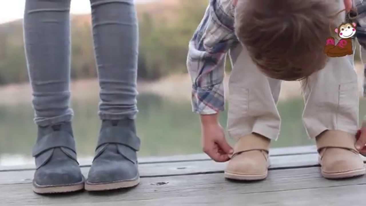 Calzado para niños: trucos para aprender a ponerse los zapatos