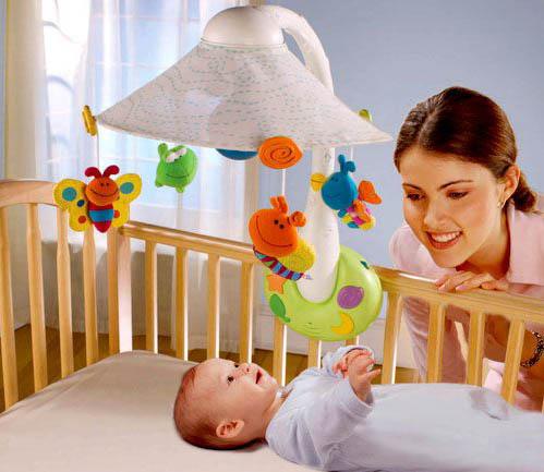 Complementos para niños: móviles colgantes para bebés
