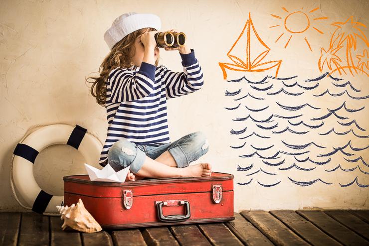 Ropa para niños: preparar su maleta