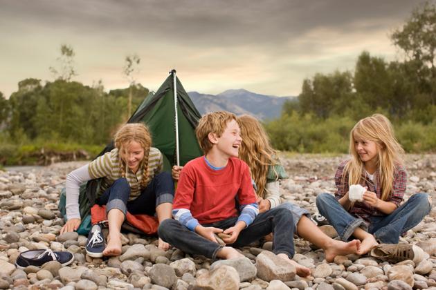 Ropa para niños: ropa adecuada para ir de campamento