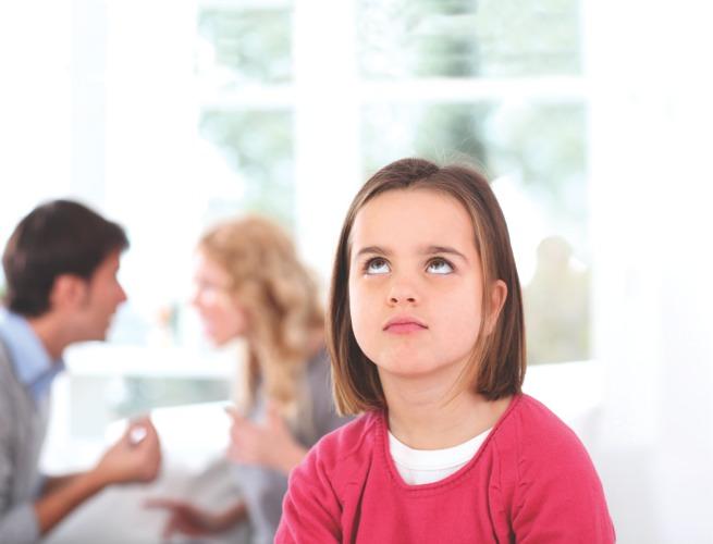 El cuidado de los niños cuando los padres están separados