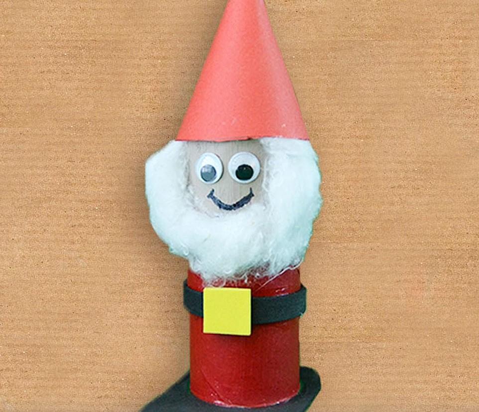 Decoraci n para ni os en navidad renos con palos de - Decoracion de navidad para ninos ...