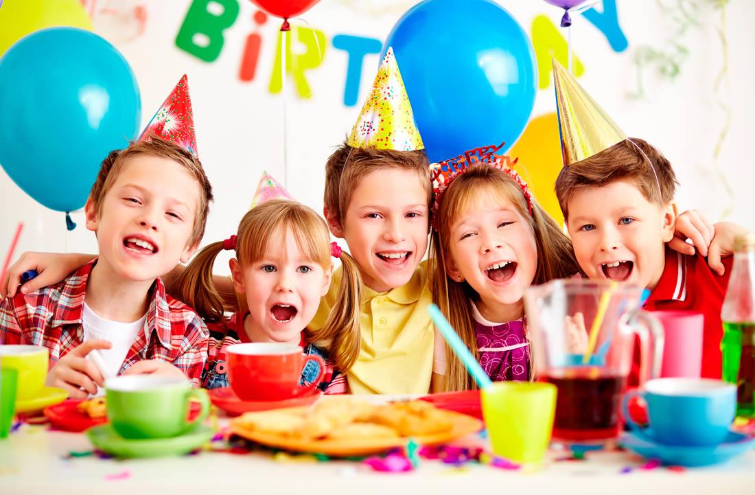 Planes para niños: cumpleaños