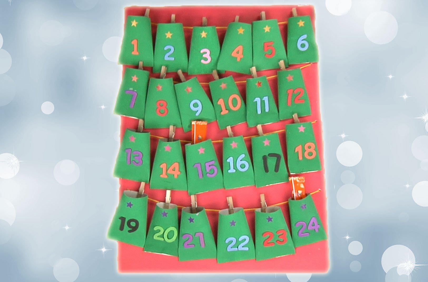 Decoraci n para ni os calendario de adviento solo para for Calendario adviento ninos