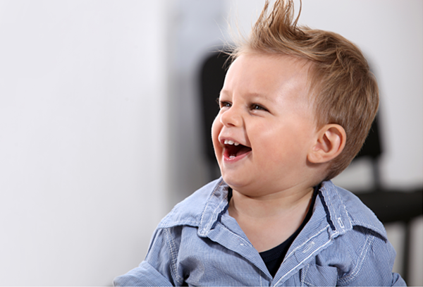Cortes y peinados para niños
