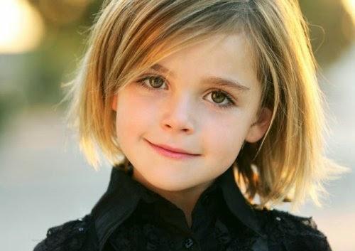 Peinados para niñas: tendencias en cortes de pelo