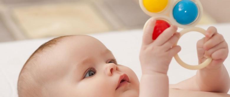 Juguetes para niños de 0 a 12 meses