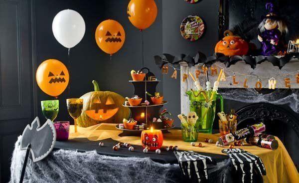 Decoración para niños en Halloween