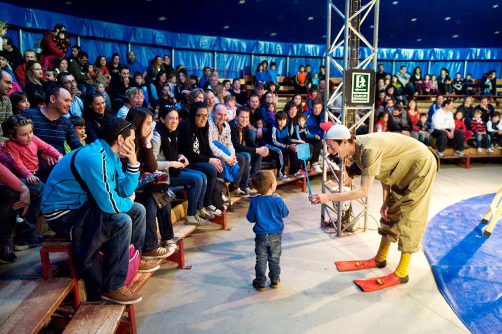 Planes para niños: ferias y circos