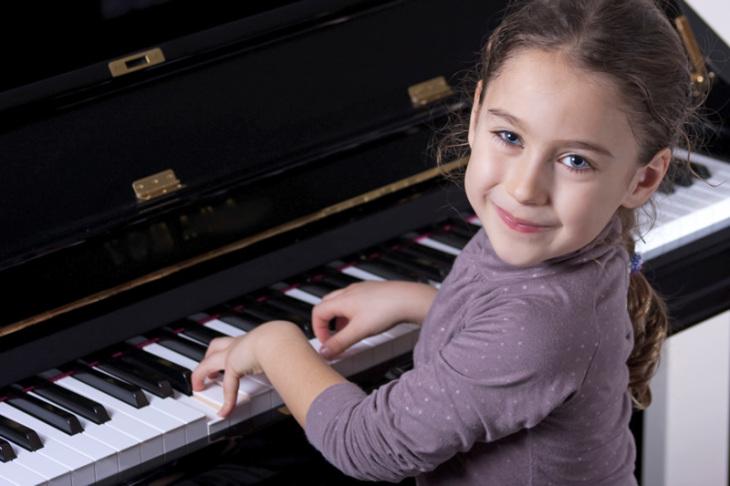 Música para los niños: el piano