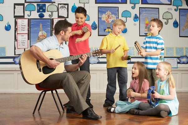 Actividades extraescolares para niños: música
