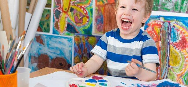 Actividades extraescolares para niños: dibujo y pintura