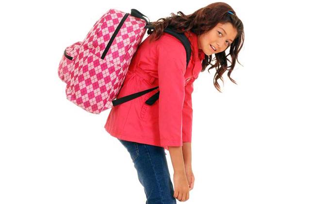Cómo llevar correctamente la mochila