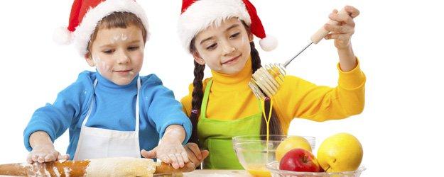Recetas para niños en Navidad