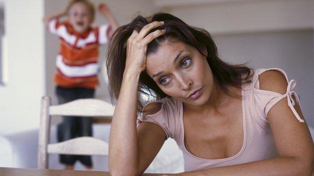 Consejos para mamás estresadas