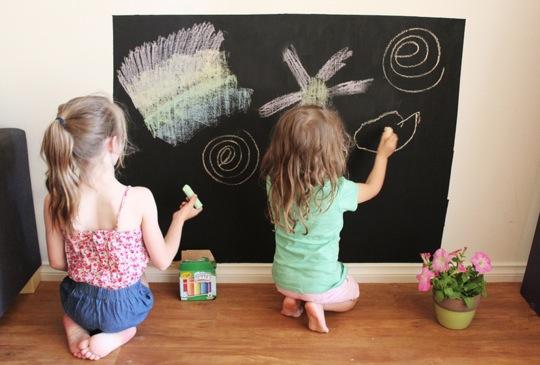 Material escolar para niños: tizas