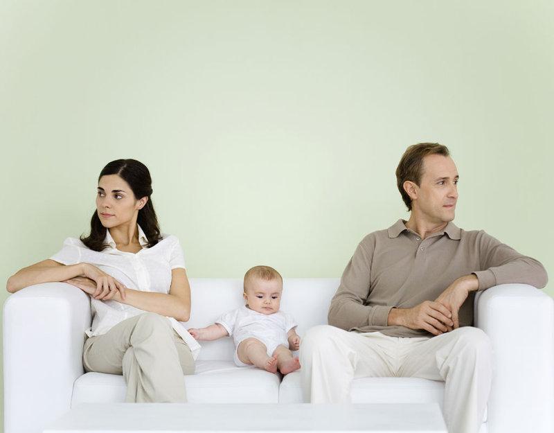 Problemas de la maternidad:discutir sin parar