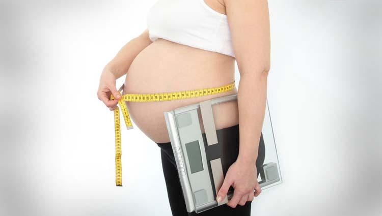Engordar de más durante el embarazo