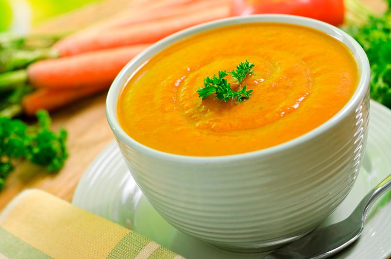 Receta para niños: crema de zanahoria
